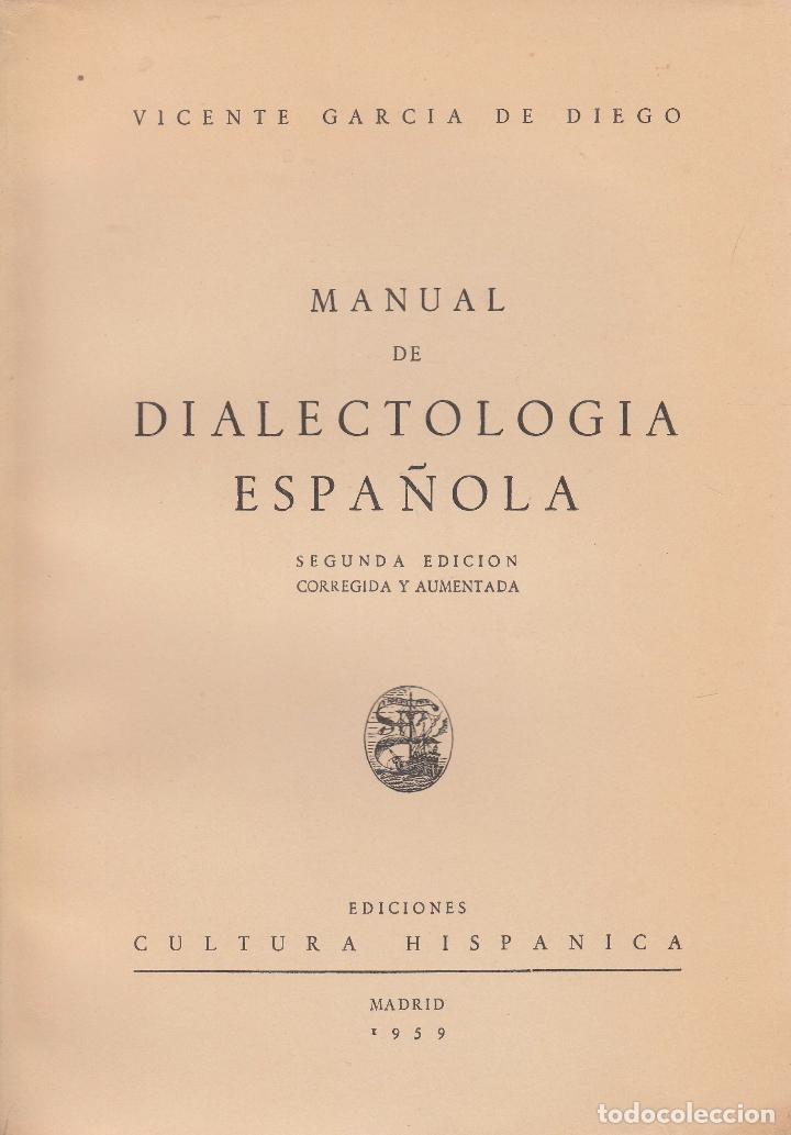 Manual de dialectología española