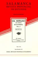 Nuevos datos sobre la obra desaparecida en Salamanca: el Colegio de la Orden Militar de Alcántara