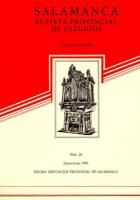 Datos y documentos sobre órganos y organeros de Salamanca