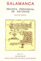 Catálogo de la documentación medieval del Archivo de la Casa de Alba relativa a la actual provincia de Salamanca