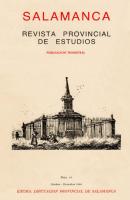 El escultor neoclásico salmantino, Manuel Francisco Alvarez de la Peña ''El Griego'' (1727-97)