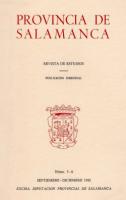 ''El semanario erudito y curioso de Salamanca'' (1793-1798) y los orígenes del periodismo en la ciudad