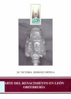 Arte del Renacimiento en León: orfebrería